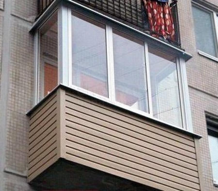 Материалы для наружной отделки балкона фото. - принадлежност.