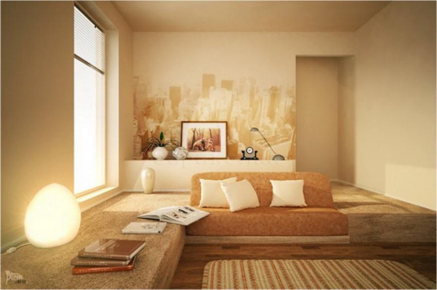 Цвет стен в интерьере фото